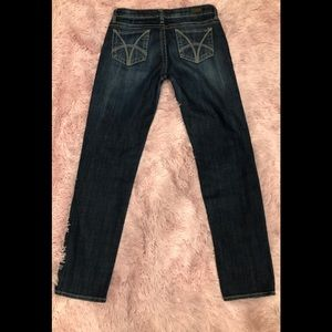 KUT from the Kloth Stevie Straight Leg Jeans SZ 6